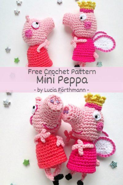Free Crochet Pattern Mini Peppa