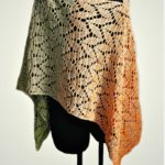 Free Crochet Pattern Spring Leaves Poncho