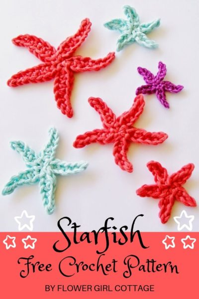 Free Crochet Pattern Starfish
