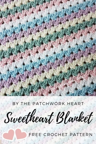 Free Crochet Pattern Sweetheart Blanket