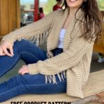 Free Crochet Pattern The Tori Cardigan