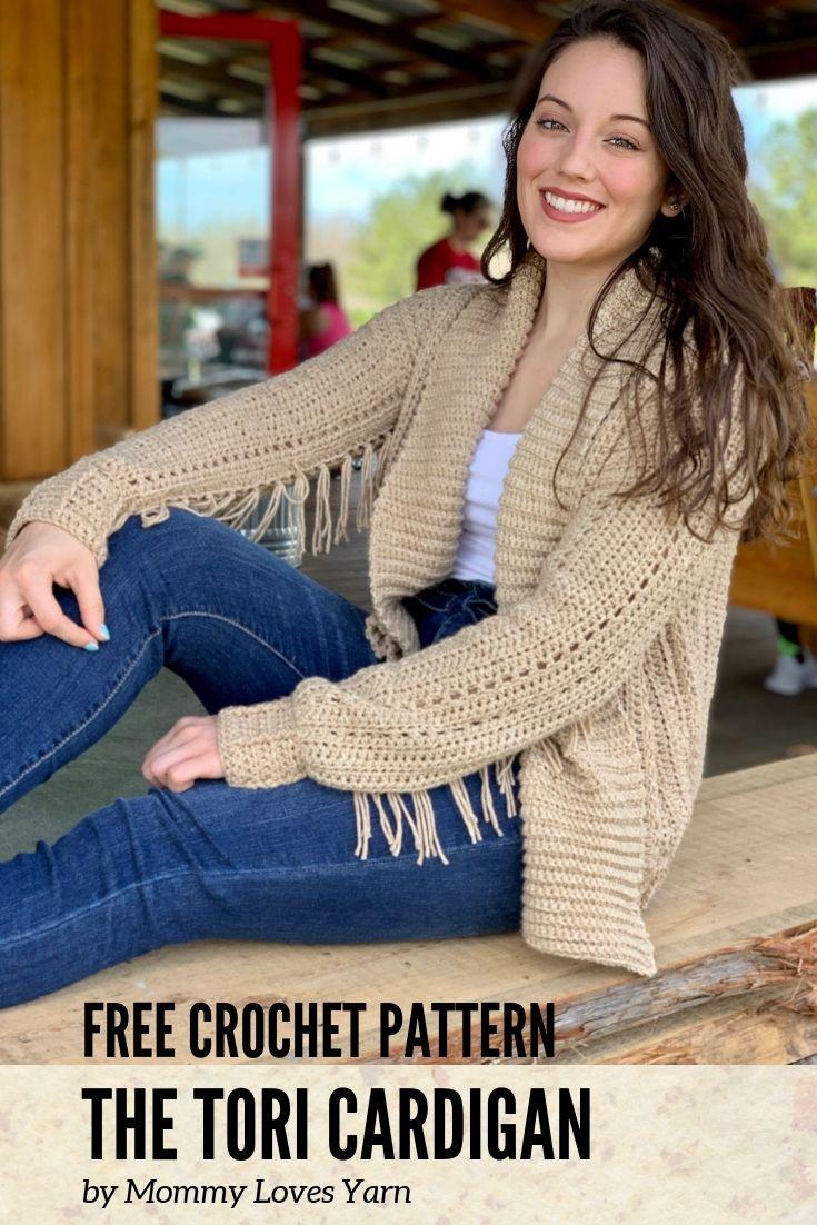 Free Crochet Pattern The Tori Cardigan