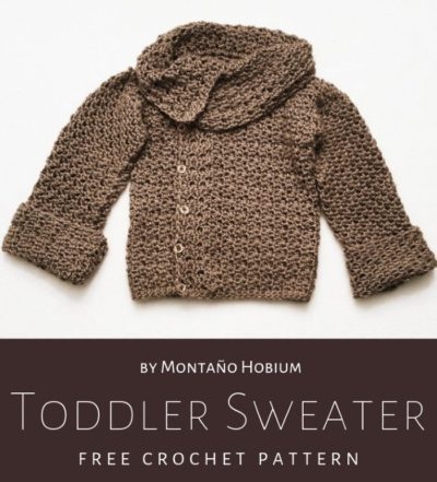Free Crochet Pattern Toddler Sweater
