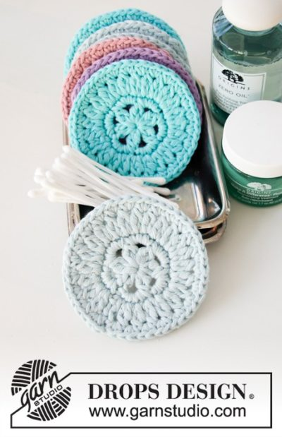 Free Crochet Pattern Beauty Pads