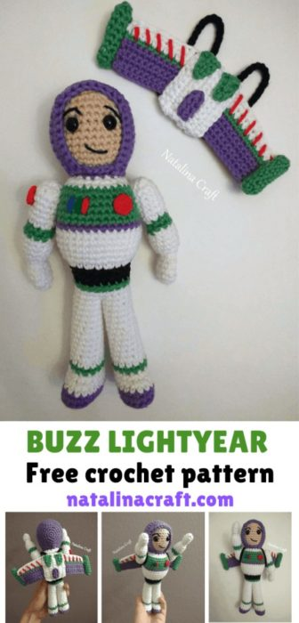 Free Crochet Pattern Buzz Lightyear