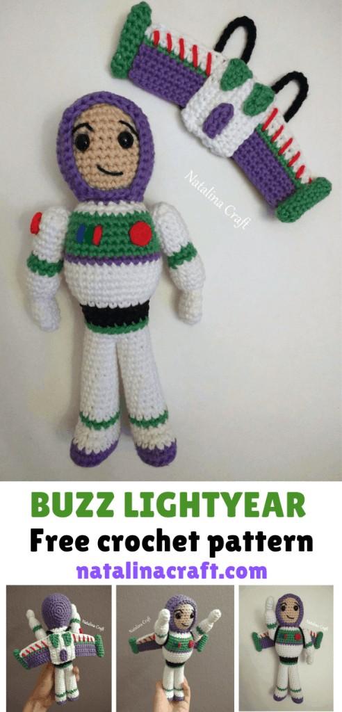 Free Crochet Pattern Buzz Lightyear