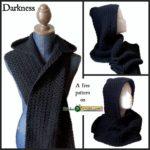 Free Crochet Pattern Darkness Wrap