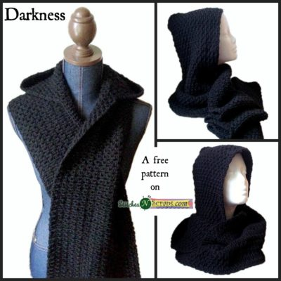 Free Crochet Pattern Darkness Wrap
