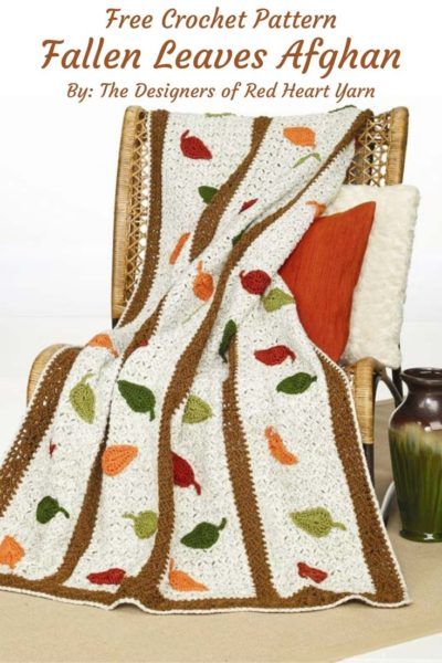 Free Crochet Pattern Fallen Leaves Afghan