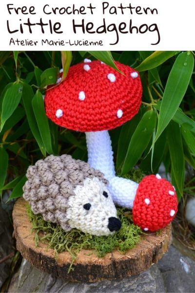 Free Crochet Pattern Little Hedgehog