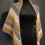 Free Crochet Pattern One Big Cake Shawl