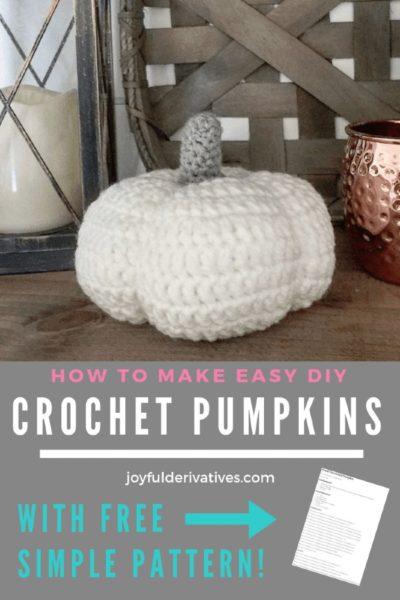 Free Crochet Pattern Pumpkins