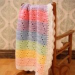 Free Crochet Pattern Rainbow Blanket