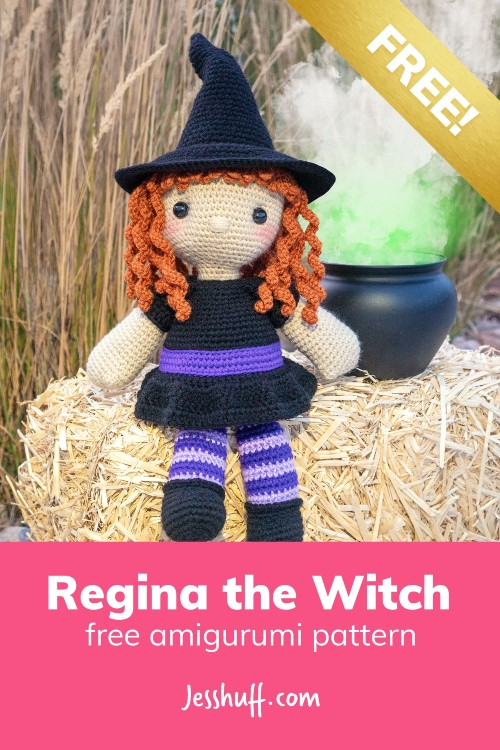 Free Crochet Pattern Regina the Witch