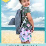 Free Crochet Pattern Shark Backpack