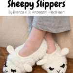 Free Crochet Pattern Sheepy Slippers
