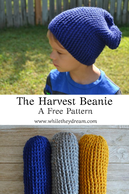 Free Crochet Pattern The Harvest Beanie