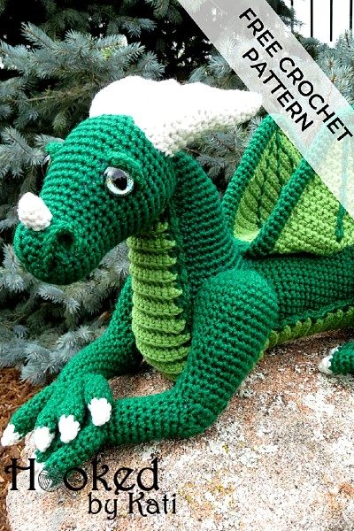 Free Crochet Pattern Vincent the Dragon