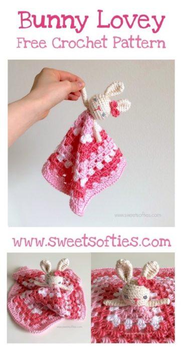 Free Crochet Pattern Bunny Lovey