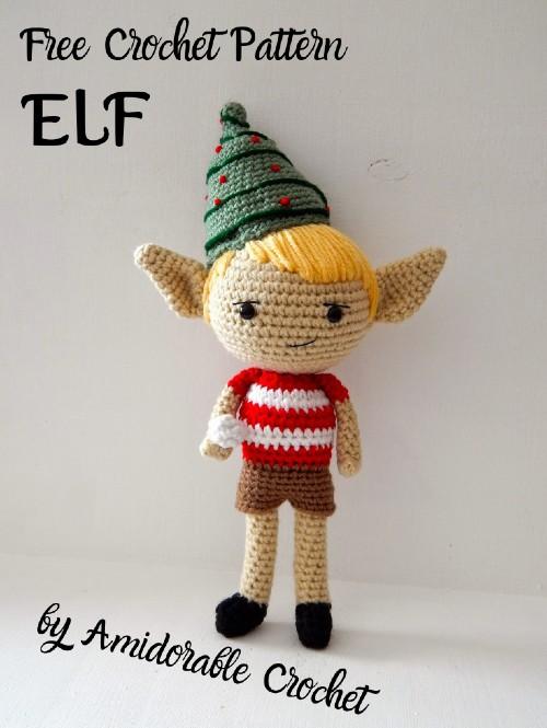 Free Crochet Pattern Elf