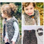 Free Crochet Pattern Erin Faux Fur Gilet