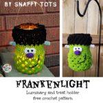 Free Crochet Pattern Frankenlight