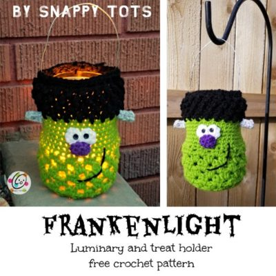 Free Crochet Pattern Frankenlight