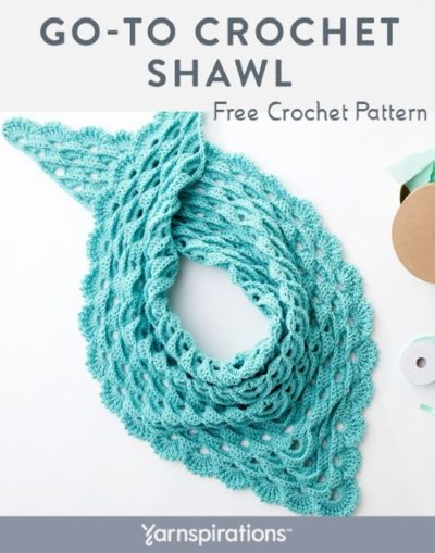 Free Crochet Pattern Go-To Shawl