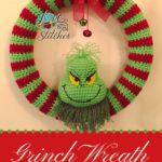 Free Crochet Pattern Grinch Wreath
