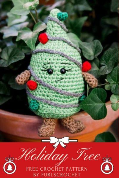 Free Crochet Pattern Holiday Tree