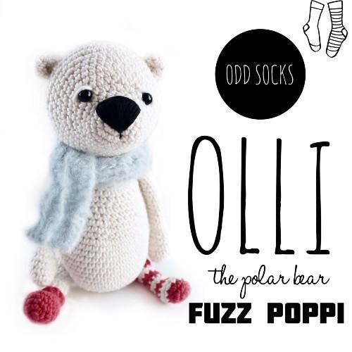 Free Crochet Pattern Olli the Polar Bear