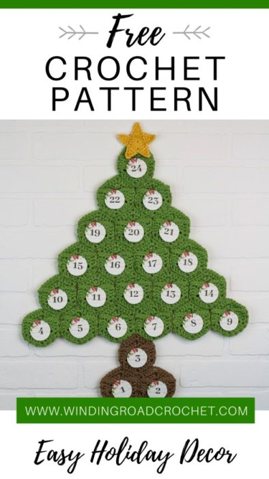 Free Crochet Pattern Advent Calendar