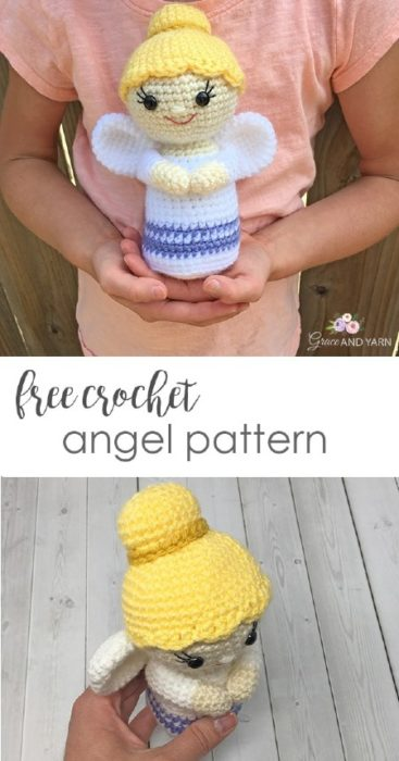 Angels Boys and girls Free Crochet Pattern ⋆ Crochet Kingdom | 700x367