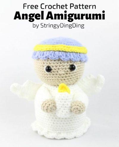 Free Crochet Pattern Angel Amigurumi