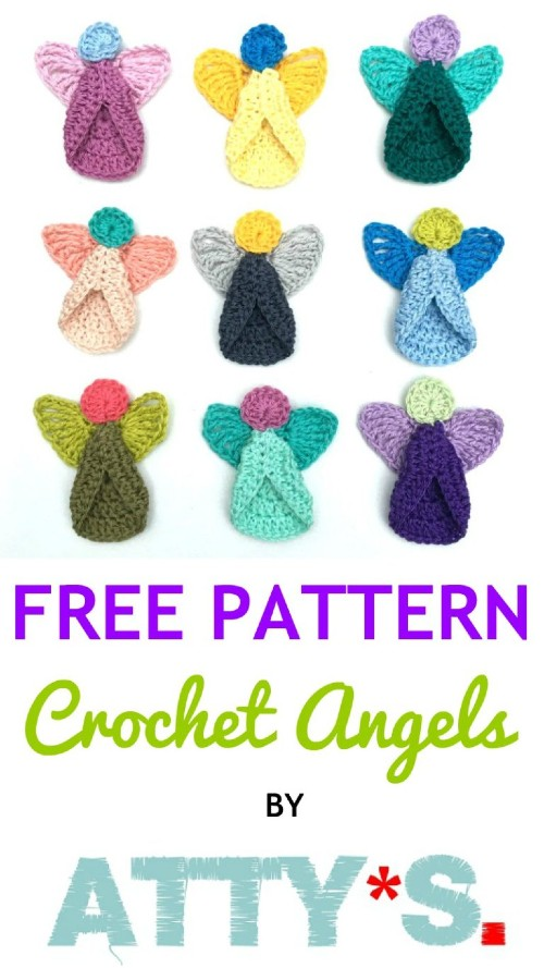 Free Crochet Pattern Angels