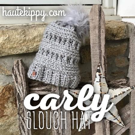 Free Crochet Pattern Carla Slough Hat