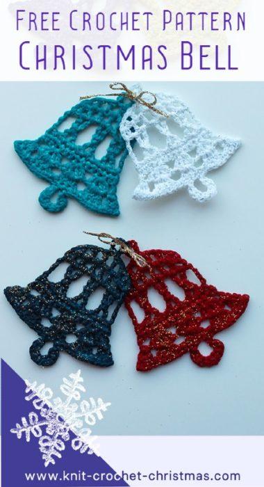 Free Crochet Pattern Christmas Bell