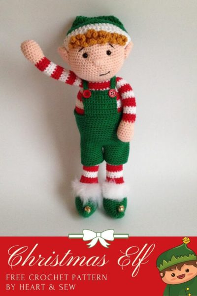 Free Crochet Pattern Christmas Elf