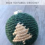 Free Crochet Pattern Christmas Tree Bauble
