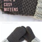 Free Crochet Pattern Cute & Cosy Mittens
