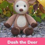 Free Crochet Pattern Dash the Deer