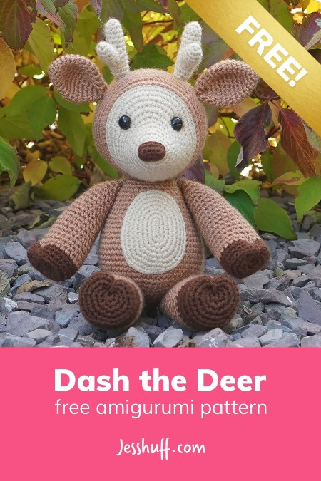 Free Crochet Pattern Dash the Deer