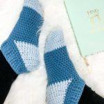 Free Crochet Pattern Easy Slipper Socks