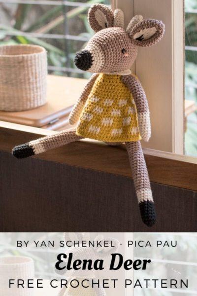 Free Crochet Pattern Elena Deer