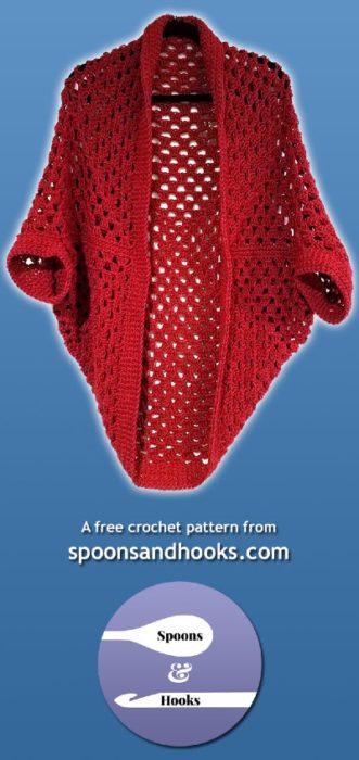 Free Crochet Pattern Granny Square Cardigan