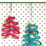 Free Crochet Pattern Ribbon Christmas Tree