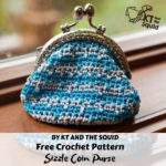 Free Crochet Pattern Sizzle Coin Purse