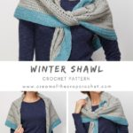 Free Crochet Pattern Winter Shawl