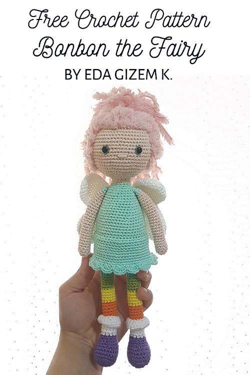 Free Crochet Pattern Bonbon the Fairy