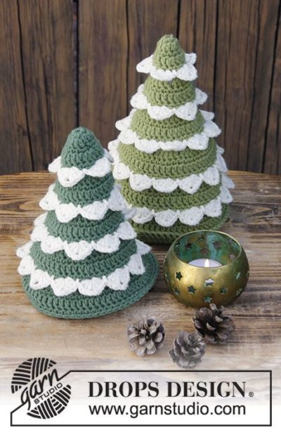 Free Crochet Pattern Christmas Forest